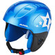 Alpina Carat Helmet Kids blue-star